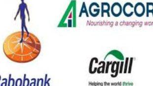 Logo cargill, agrocorp et rabobank